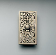 Rectangular Embossed Doorbell