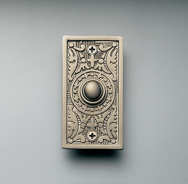 Rectangle Embossed Doorbell