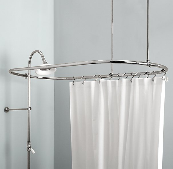Hanging Shower Curtain From Ceiling
