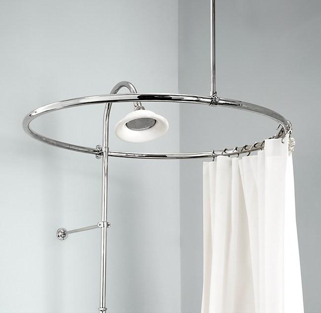 Round Shower Curtain Rod