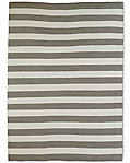 Perennials® Bold Stripe Outdoor Rug - Charcoal
