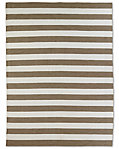 Perennials® Bold Stripe Outdoor Rug - Mocha