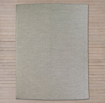Perennials® Solid Outdoor Rug - Fog
