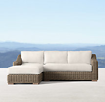 Provence Classic Left-Arm Chaise Sectional
