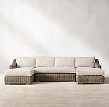 Provence Classic U-Chaise Sectional