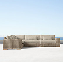 Majorca Luxe L-Sectional Cushions