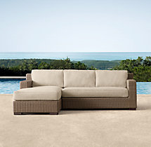Biscayne Classic Left-Arm Chaise Sectional