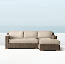 Biscayne Classic Right-Arm Chaise Sectional