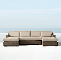 Biscayne Classic U-Chaise Sectional