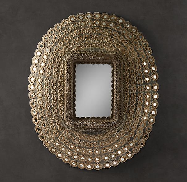 Peacock Mirrors