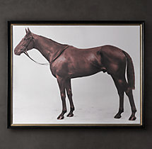 1928 Royal Ascot Thoroughbred Print