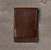 Italian Leather Slim Wallet Cocoa
