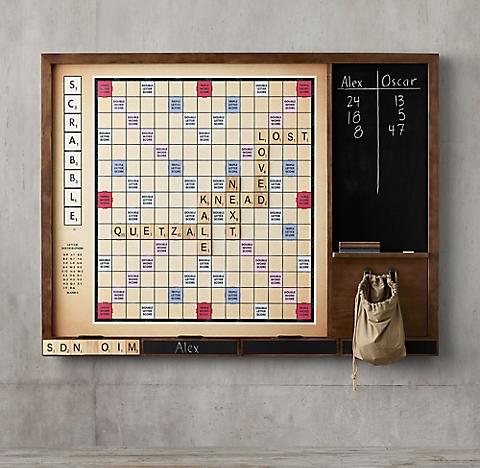 Giant Wall Scrabble