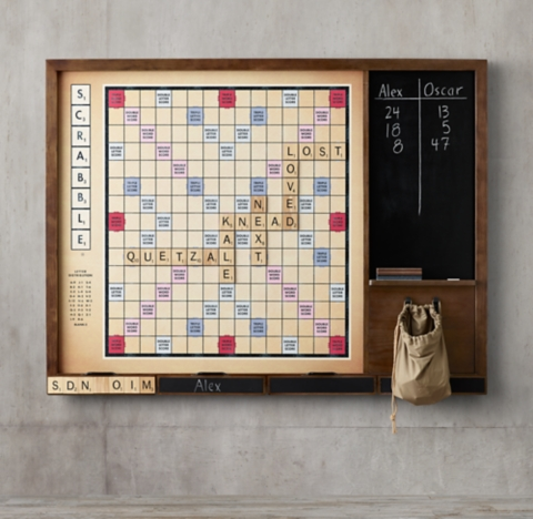 Giant Wall Scrabble 174