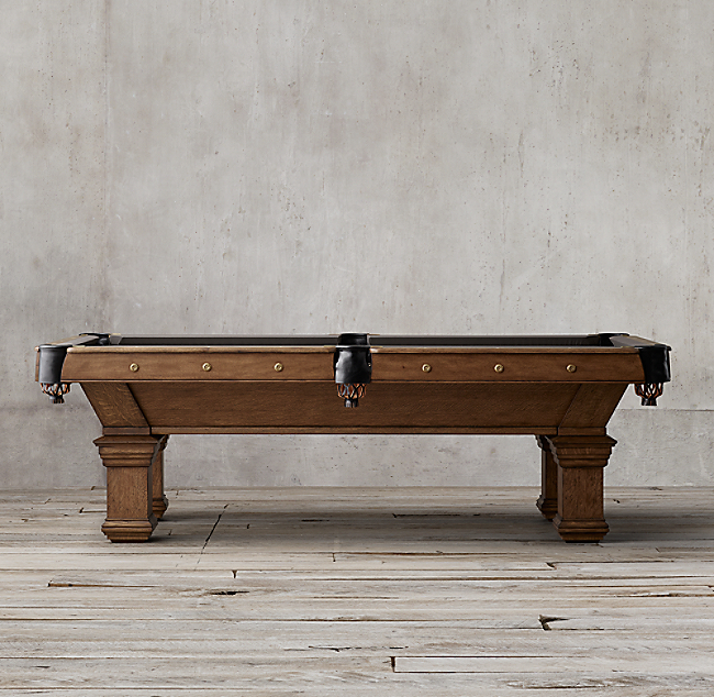 Brunswick Vintage 1906 Billiards Table Color Preview Unavailable