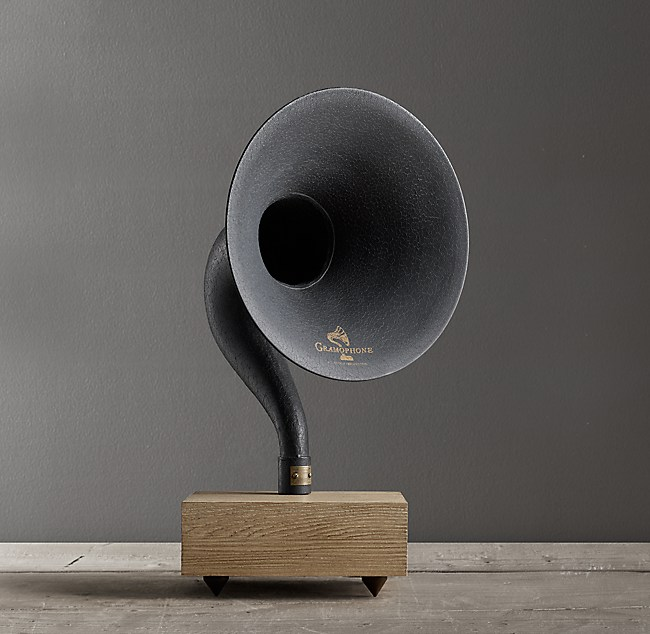Restoration Hardware Gramophone: Gramophone Mini With Bluetooth®