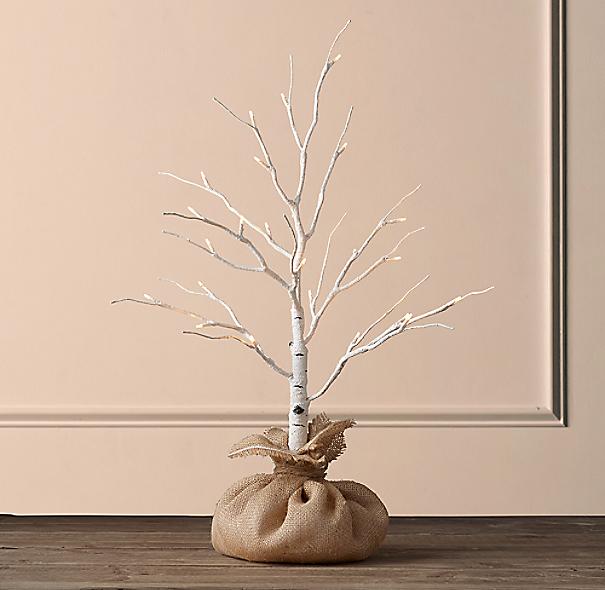 Birch Winter Wonderland Tree 2