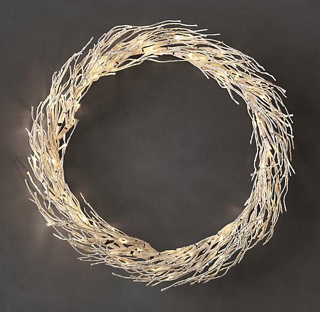 Birch Winter Wonderland Wreath
