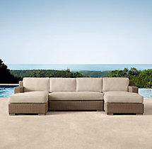 Biscayne Classic U-Chaise Sectional Cushions