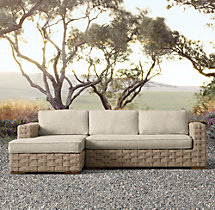 Rutherford Left-Arm Chaise Sectional Cushions