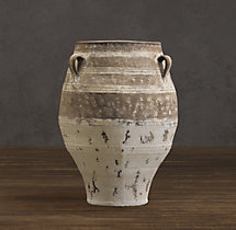 Handled Mediterranean Jar – Natural