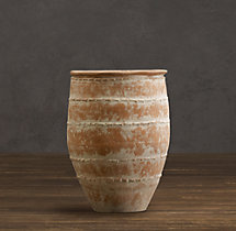 Ribbed Mediterranean Jar – Natural