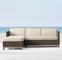 Malibu Left-Arm Chaise Sectional Cushions