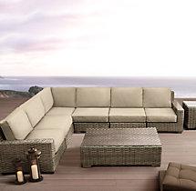 Antigua L-Sectional Cushions
