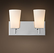 Modern Double Sconce