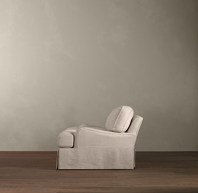 Admirable English Roll Arm Slipcovered Sofa Download Free Architecture Designs Crovemadebymaigaardcom