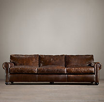 Original Lancaster Leather Sofa