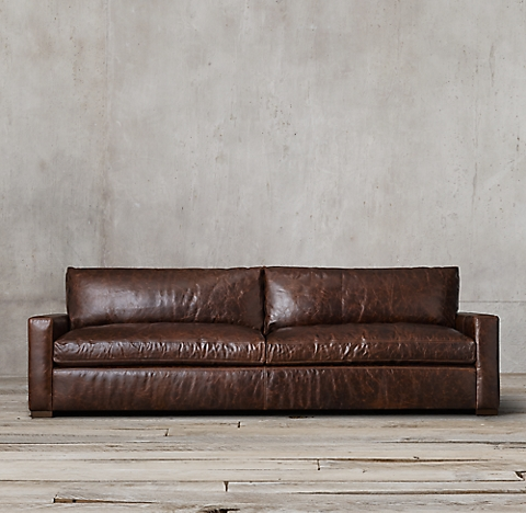 3 Depths 6 Lengths Maxwell Leather Sofa