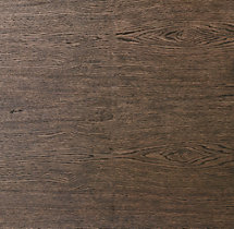 Antiqued Brown Oak Wood Swatch