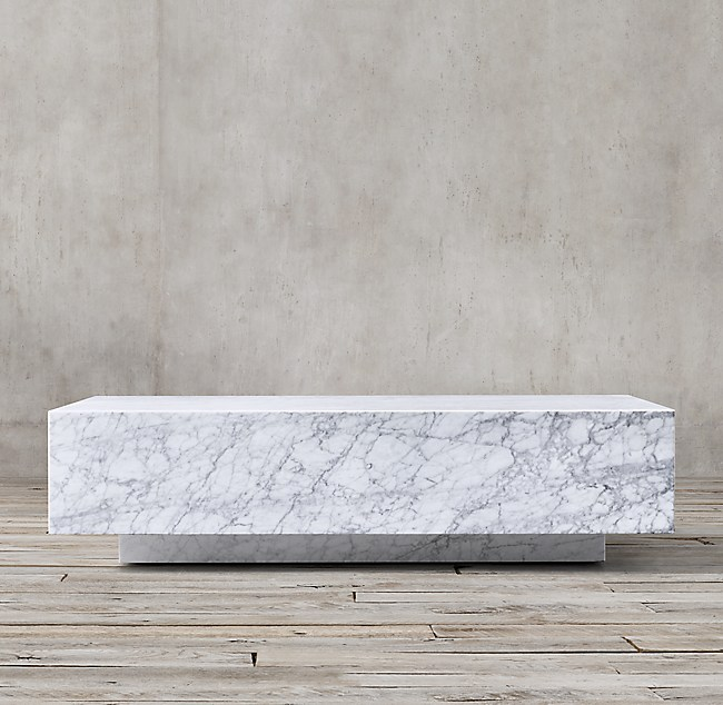More Sizes Finishes Marble Plinth Coffee Table