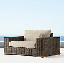 Majorca Luxe Chair-and-a-Half Cushions