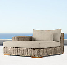 Majorca Luxe Left-Arm Chaise