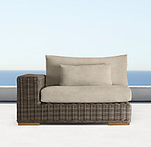 Majorca Luxe Modular Left/Right-Arm Chair Cushion