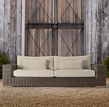 "102"" Majorca Luxe Sofa Cushions"