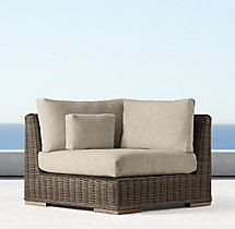 Majorca Luxe Modular Corner Chair Cushion