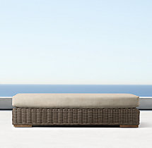 Majorca Luxe Coffee Table Ottoman Cushion