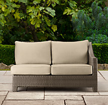 La Jolla Two-Seat Left/Right-Arm Sofa Cushions