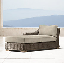 Provence Luxe Left/Right-Arm Chaise Cushions