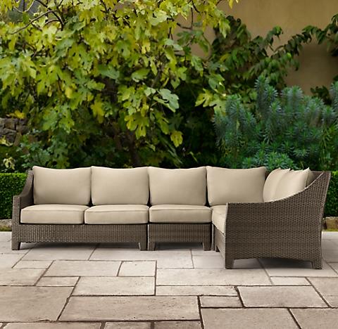 La Jolla Hazelnut RH - La jolla patio furniture
