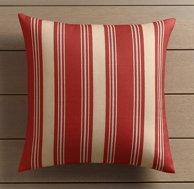 Martinique Outdoor Stripe Pillow Covers