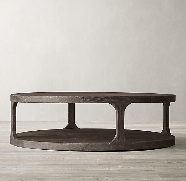 Martens Round Coffee Table Restoration Hardware 36 Inch: Martens Round Coffee Table
