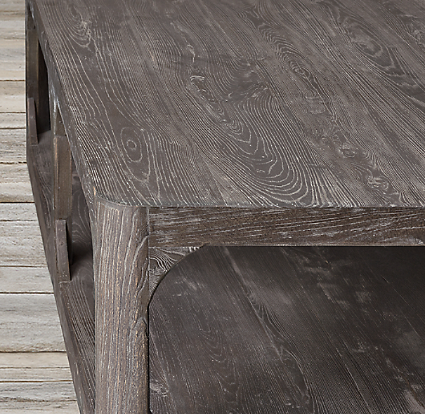 Martens Round Coffee Table Restoration Hardware 36 Inch: Martens Square Coffee Table