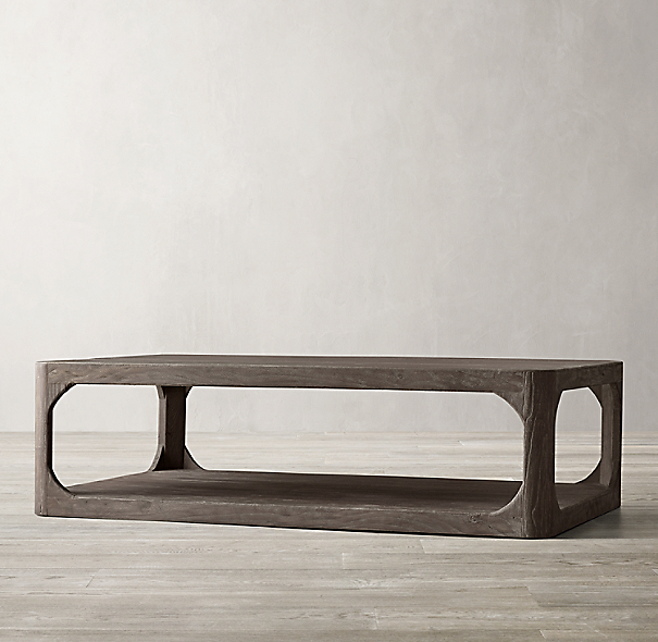 Martens Round Coffee Table Restoration Hardware 36 Inch: Martens Rectangular Coffee Table