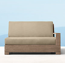 Belvedere Luxe Two-Seat Left/Right-Arm Sofa Cushions