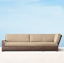 Belvedere Luxe Four-Seat Left/Right-Arm Return Sofa Cushions