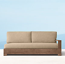 Belvedere Luxe Three-Seat Left/Right-Arm Sofa Cushions